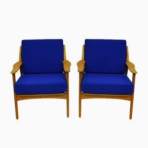 Armchairs by Niels Koefoed for Koefoed Hornslet, Set of 2