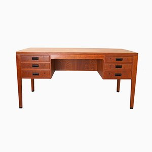Danish Teak Writing Desk, 1950s
