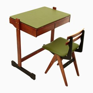 Desk and Chair from Fratelli Reguitti, 1960s