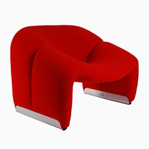 Vintage F598 Chair by Pierre Paulin for Artifort