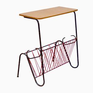 Portariviste con tavolino, anni '60