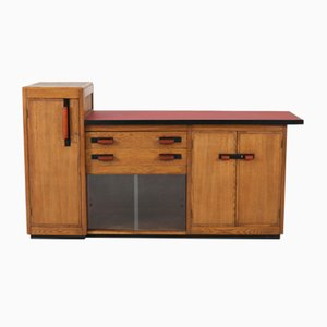 Dutch Oak Sideboard by Jan Brunott, 1920s
