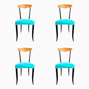 Vintage Esszimmerstühle von Fasem Isolina, 4er Set