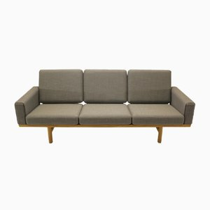Vintage GE236 3-Seater Sofa by Hans J. Wegner for Getama