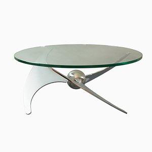 Verstellbarer Propeller Tisch von L. Campanini für Cama, 1970er