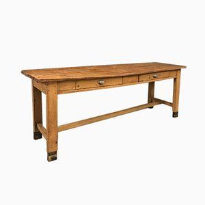 Antique Wooden Butchers Table