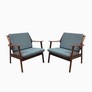 Vintage Armchairs from De Ster Gelderland, Set of 2