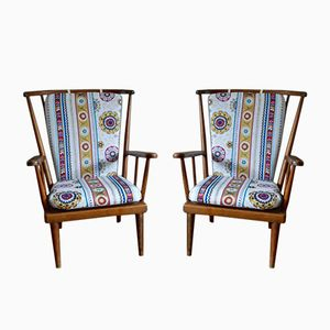 Armchairs from Baumann, 1950s, Set of 2