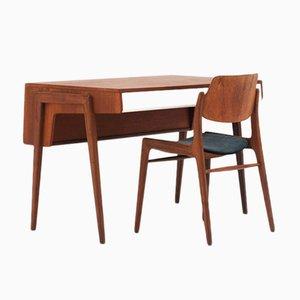 Schreibtisch und Stuhl von Wilkhahn, 1960er