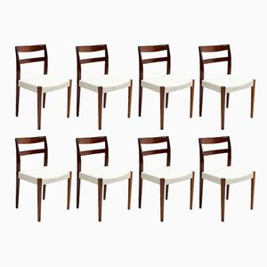 Garmi Rosewood Dining Chairs by Nils Jonsson for Hugo Troeds, Set of 8