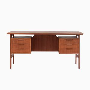 Model 75 Desk by Gunni Omann for Omann Jun, 1960s