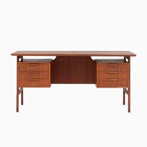 Modell 75 Schreibtisch von Gunni Omann für Omann Jun, 1960er