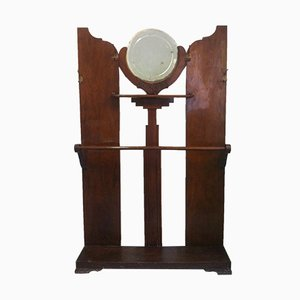 Vintage Spanish Art Deco Hall Stand, 1934