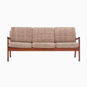 Model 166 3-Seater Sofa from the Senator Series by Ole Wanscher for Cado