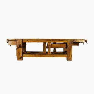 Tavolo da lavoro in quercia, anni '30
