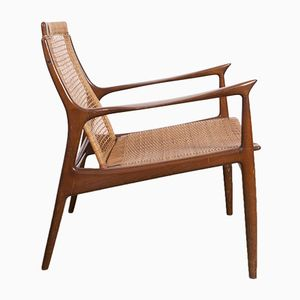 Mid-Century Lounge Chair by Ib Koford Larsen for OPE