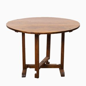 19th Century Fruitwood Vendange Table