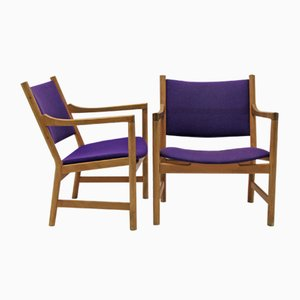 Vintage CH52 Armchairs by Hans J. Wegner for Carl Hansen, Set of 2