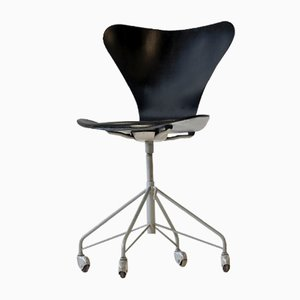 3117 07 Office Chair by Arne Jacobsen for Fritz Hansen, 1950s