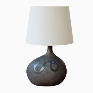 Danish Lamp Art Asymmetrisk Table Lamp by Michael Bang for Holmegaard, 1970s