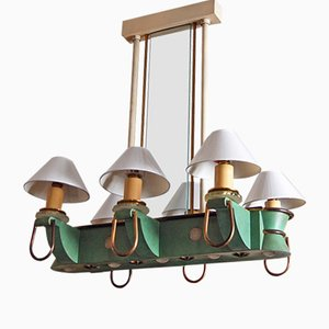 Paquebot Vintage Chandelier from Genet & Michon