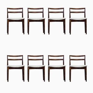 Danish 61 Dining Chairs by Harry Østergaard for Randers Møbelfabrik, 1960s, Set of 8