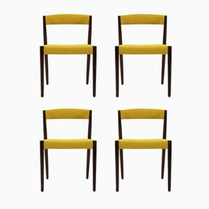 Danish Palisander Chairs, 1960s, Set of 4