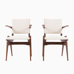 Armchairs by Maurice Pre, 1950s, Set of 2