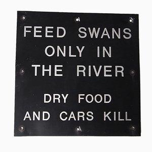 Britisches Vintage Schild