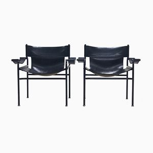 Lounge Chairs by Walter Antonis for 't Spectrum, 1970s, Set of 2