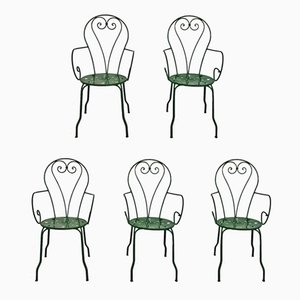 Liberty Garden Chairs, 1930s, Set of 5