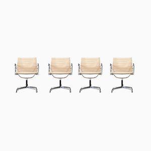 EA 107 Stühle von Charles & Ray Eames für Herman Miller, 1950er, 4er Set