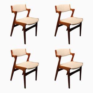 Esszimmerstühle von Nova, 1960er, 4er Set