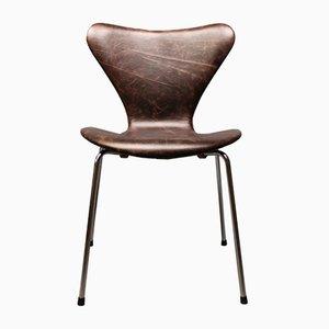 Modell 3107 Stuhl von Arne Jacobsen für Fritz Hansen, 1960er
