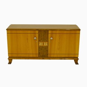 Elm and Birch Sideboard, 1940s