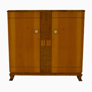 Elm and Birch Highboard, 1940s