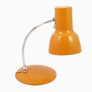 Schreibtischlampe in Orange von Josef Hurka für ESC Napako, 1960er