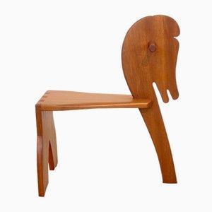 Petite Chaise pour Enfants Mid-Century Style Scandinave en Teck