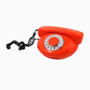 Vintage Orange Phone from Tesla Strapkov, 1972