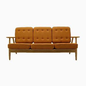 GE240/3 Sofa by Hans J Wegner Sofa for Getama, 1950s