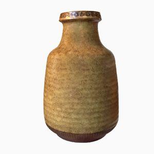 Schwedische Keramik Vase von Gunnar Nylund für Rörstrand, 1960er