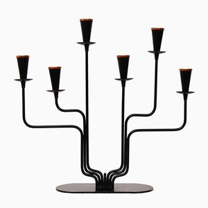 Swedish Candelabra by Gunnar Ander for Ystad Metall, 1960s