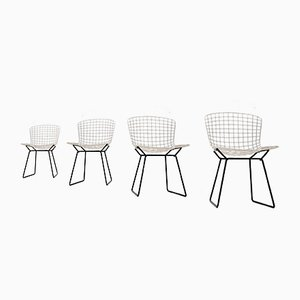 Diamond Wire Lounge Chairs by Harry Bertoia for Knoll Inc, 1950s, Set of 4