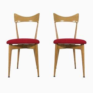Stühle von Ico Parisi & Luisa Parisi für Ariberto Colombo, 1947, 2er Set
