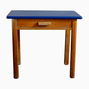 Small Wooden Child Desk, 1950s