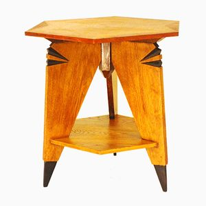 Art Deco 262 Side Table by Piet Izeren for De Genneper Molen, 1930