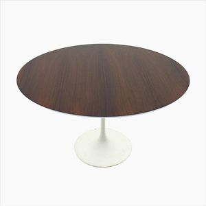 Rosewood Dining Table by Eero Saarinen for Knoll International, 1970s