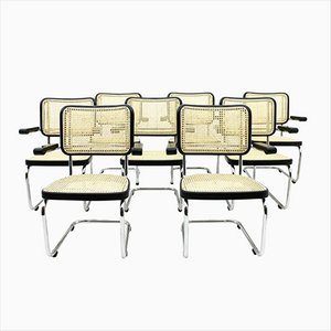 S 67 F Lobby Stühle von Mart Stam für Thonet, 8er Set