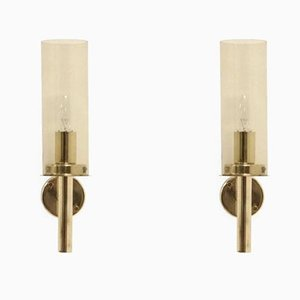 Model V-169 Sonata Wall Lamps by Hans-Agne Jakobsson, 1960s, Set of 2