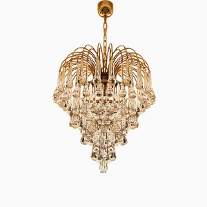 Murano Glass Drops Chandelier by Paolo Venini, 1970s